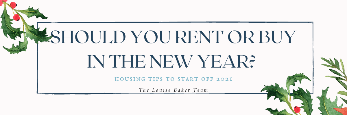 Should you rent or buy in the new year?