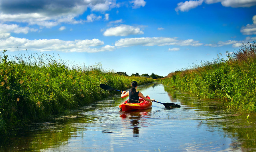 Kayaking in New River Valley